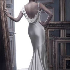 Casablanca couture Bridal b055 New With Tags